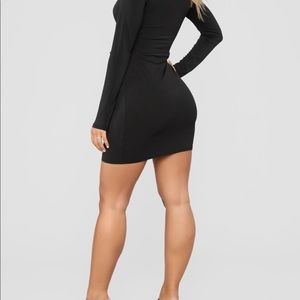 Fashion Nova Dresses - Mykayla Tie Front Mini Dress